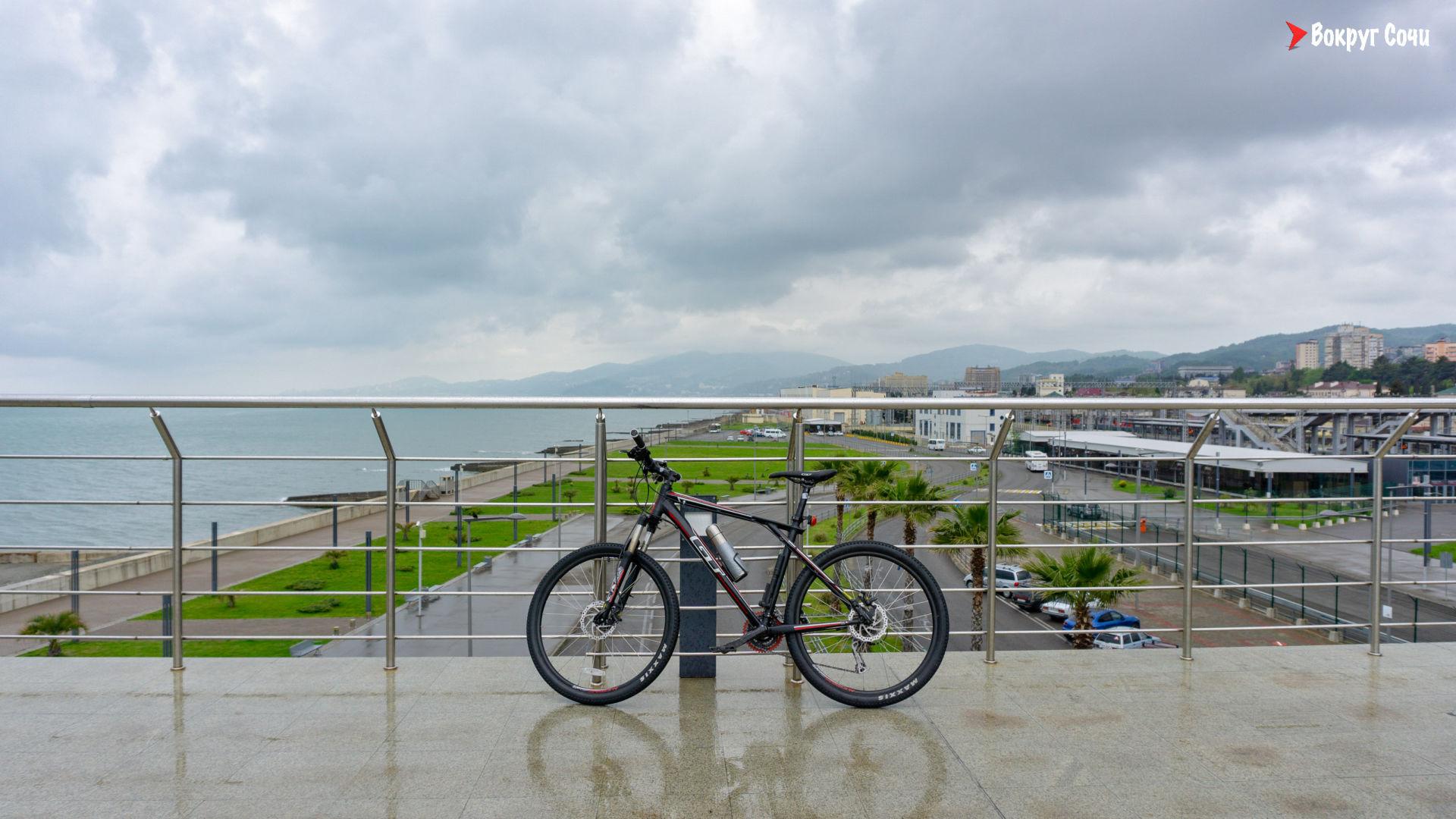 Велопоездка Олимпийский парк