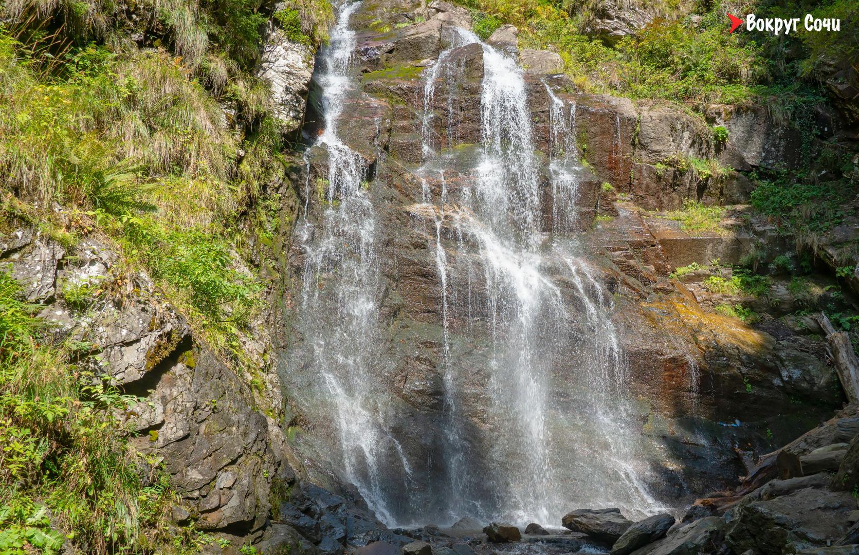 Парк водопадов Менделиха