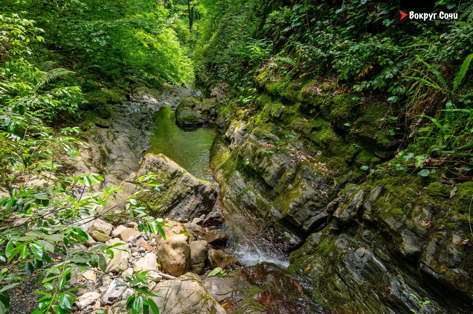 Мацестинские водопады